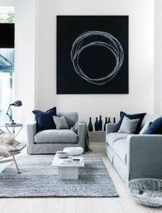 El gris y su elegancia seran tendencia en pinturas para tu hogar 2018