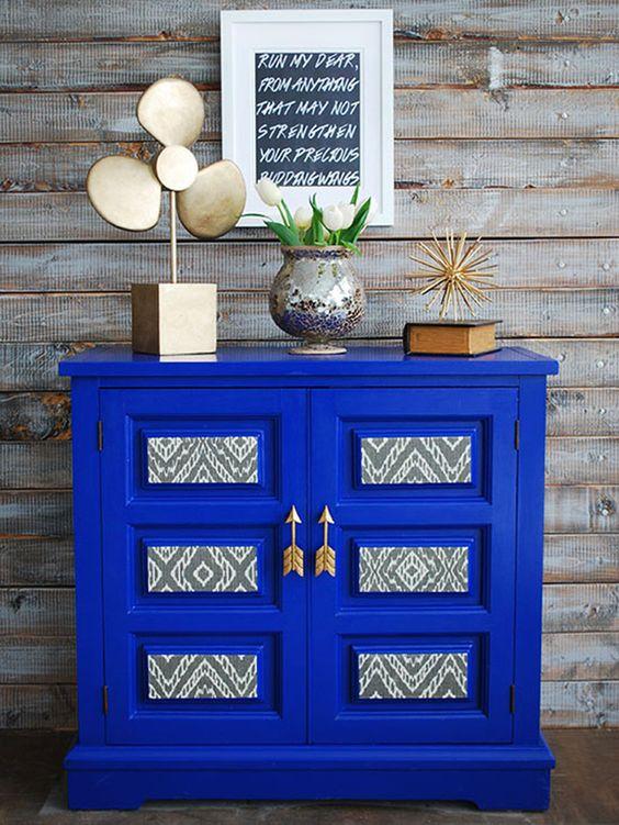 azul cobalto para decorar paredes en este 2018