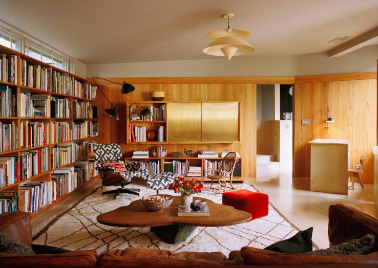decoracion de interiores con estilo mid-century moderno (1)
