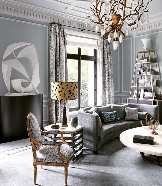 Estilo clasico moderno 5 curso de decoracion de Estilo clasico diseno de interiores
