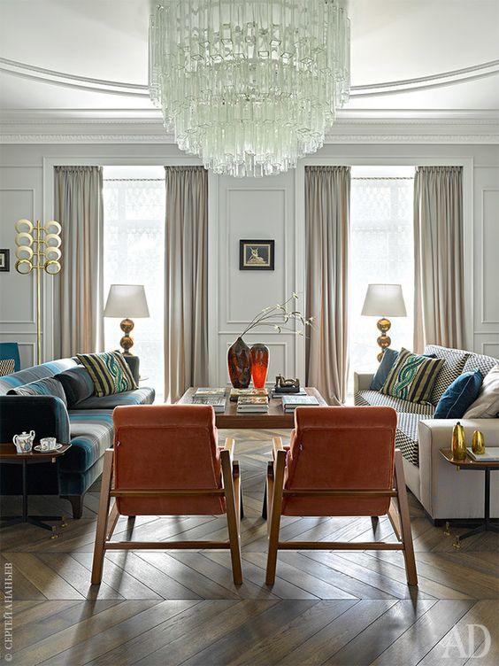 estilo clasico moderno 6 decoracion de interiores