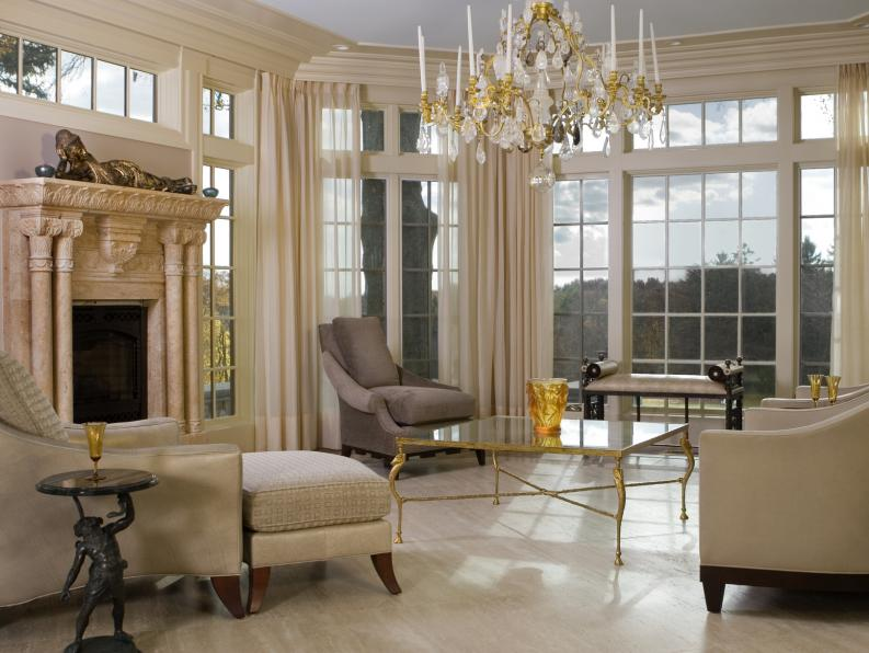 Estilo clasico para decoracion de interiores 6 for Living estilo clasico