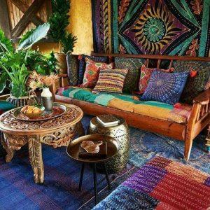 tendencias o estilos en decoracion de interiores bohemio o boho chic (2)