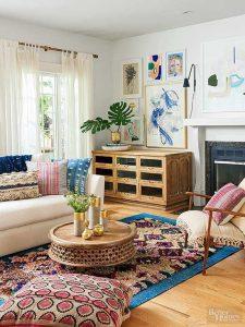 tendencias o estilos en decoracion de interiores bohemio o boho chic