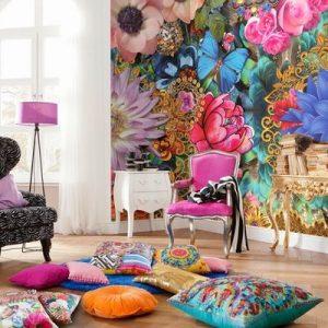 tendencias o estilos en decoracion de interiores bohemio o boho chic (5)