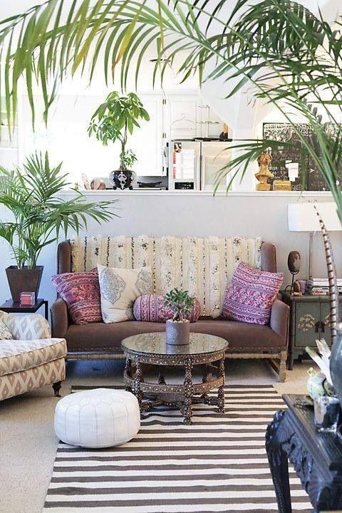 tendencias o estilos en decoracion de interiores bohemio o boho chic (8)