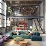 tendencias o estilos en decoracionde interiores tipo loft (2)