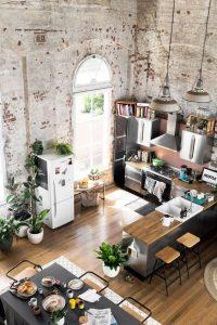 tendencias o estilos en decoracionde interiores tipo loft (3)