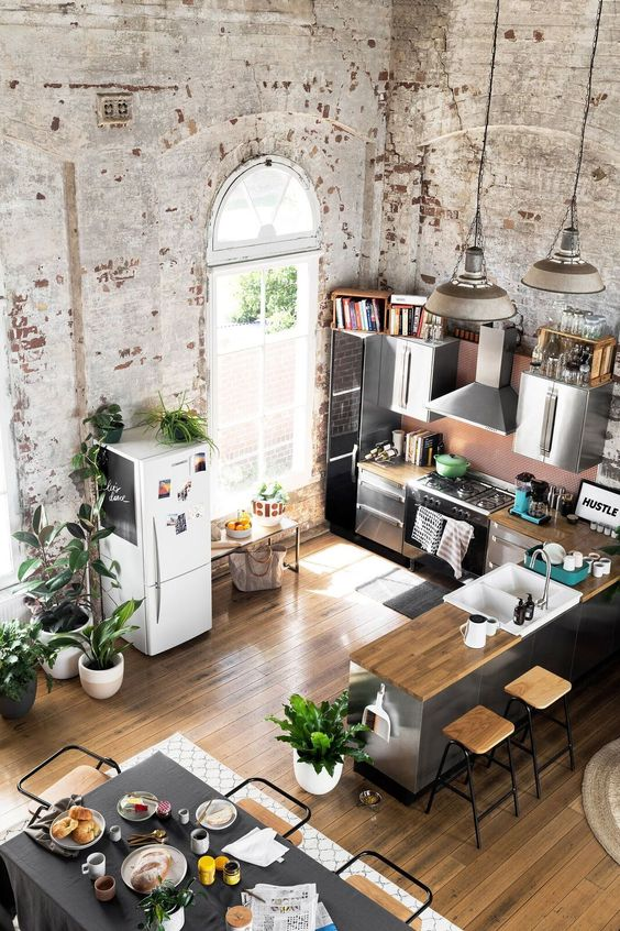 Tendencias o estilos en decoracion de interiores tipo loft - Tendencias en decoracion de interiores ...