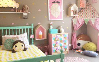 Decoración de habitaciones infantiles – como elegir los colores