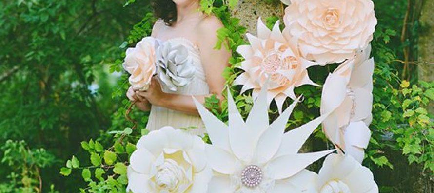 Como hacer Flores de Papel Gigantes