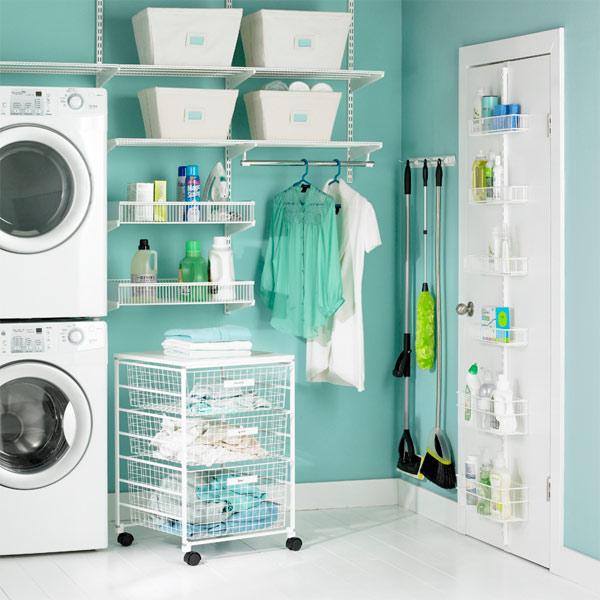 Decoraci n y organizaci n de cuarto de lavado con lavadero for Diseno lavadero