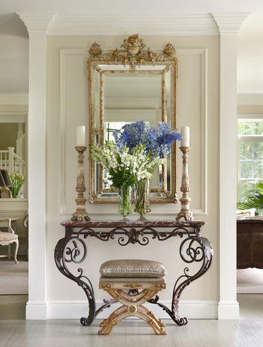 Como decorar un recibidor pequeño