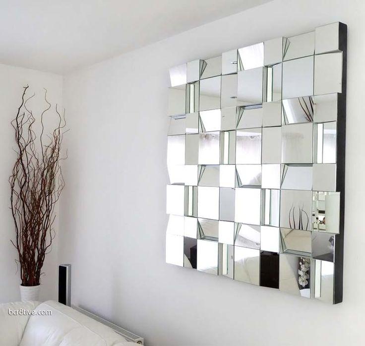 Espejos para salas modernas elegantes
