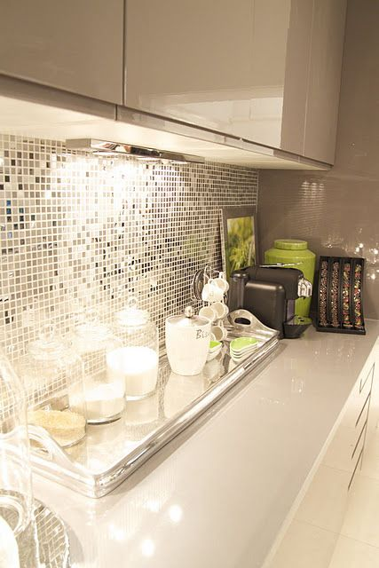 espejos para decorar cocinas modernas