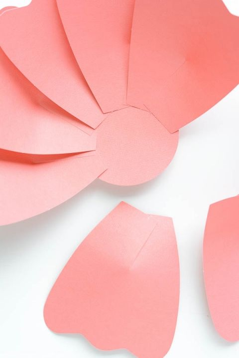 Como Hacer Flores De Papel Gigantes Tutorial Paso A Paso