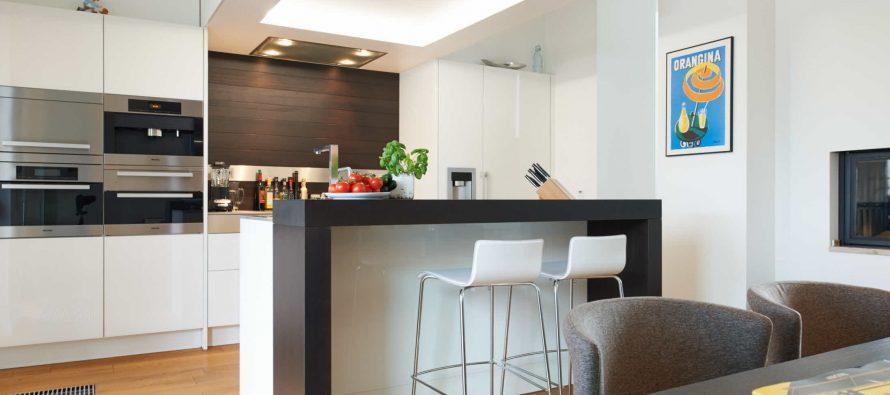 Ideas para dise o de desayunadores islas o barras para la - Diseno de barras para cocina ...