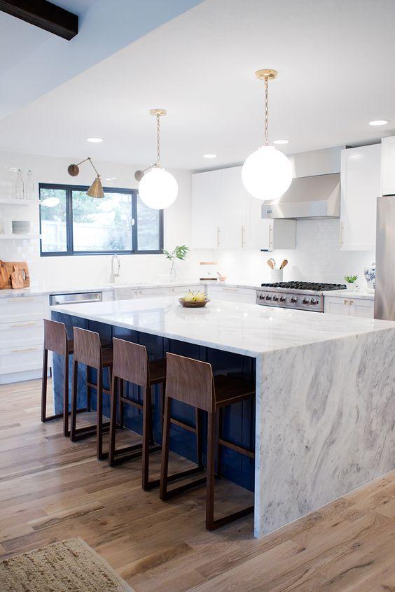 Desayunadores para la cocina | Islas, barras y más diseños