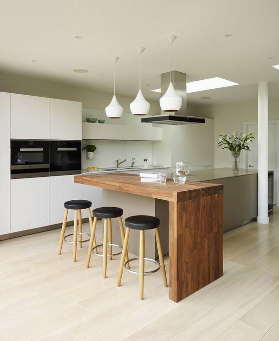 Ideas Para Dise 241 O De Desayunadores Islas O Barras Para La Cocina Decoracion De Interiores