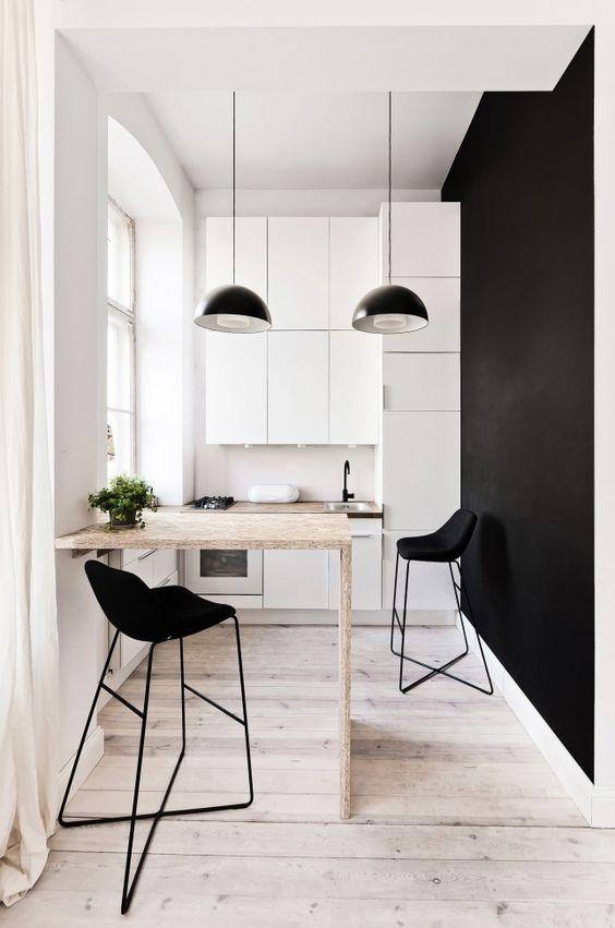 Diseños de cocinas pequeñas y sencillas