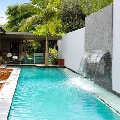 Fuentes para piscinas