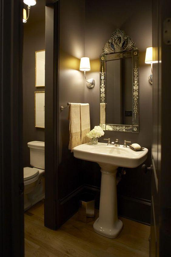 Decoraci n de interiores de color caf chocolate for Decoracion de interiores en color gris