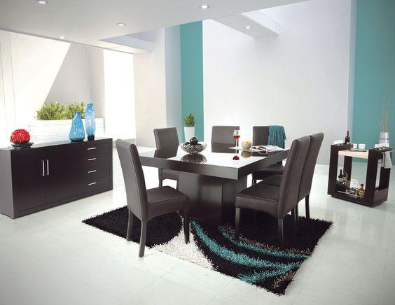 una punto a favor de los muebles en tono chocolate es que son muy fcil de combinar incluso con mas de un color y el resultados es simple y