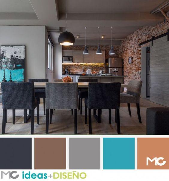 Decoracion de comedores color chocolate 8 decoracion - Que color puedo pintar mi cocina ...