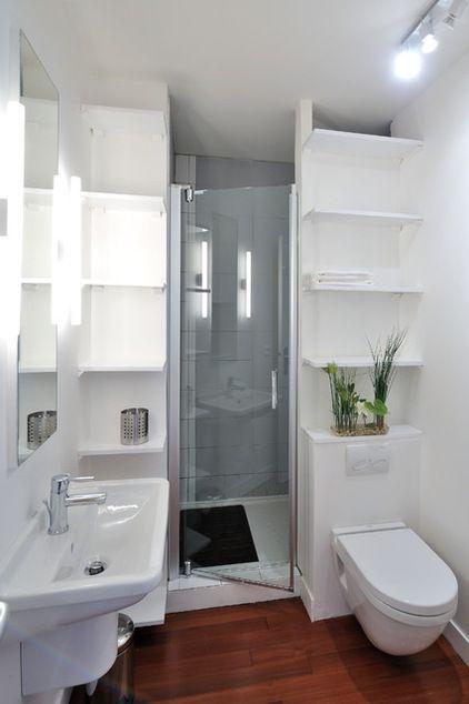 Cómo distribuir doce baños pequeños