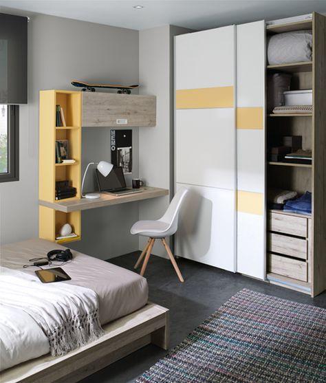 Decoracion de habitaciones para adolescentes 18 curso for Diseno de habitaciones para adolescentes