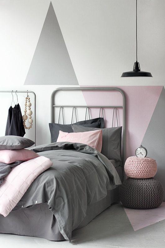 idea-de-decoracion-recamara-para-niña-gris-y-rosa