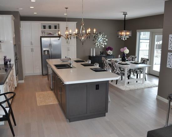 Ideas de decoracion de cocina en gris decoracion de for Decoracion de interiores en gris