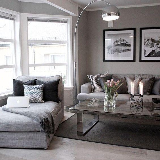 Ideas decoracion gris 13 decoracion de interiores for Decoracion casa gris