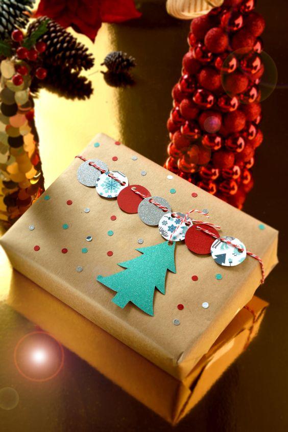 Como envolver regalos de navidad decoracion de - Envolver regalos de navidad ...