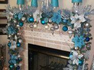 Decoración navideña Azul 2017