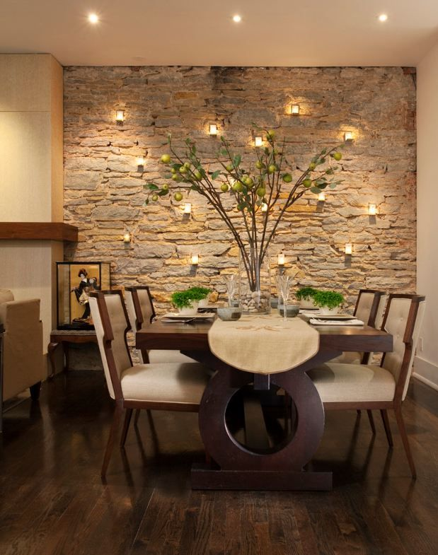 25 formas para decorar tu comedor 25 decoracion de - Decoracion pared comedor ...