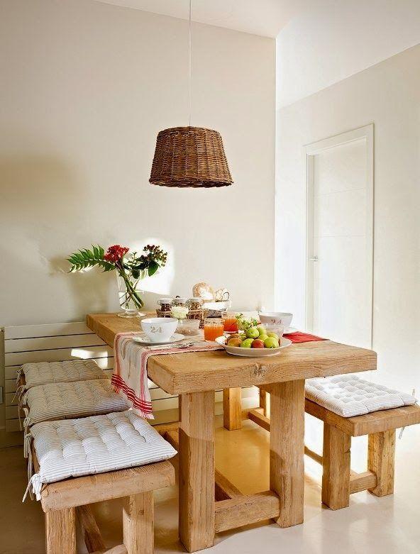 125 formas para decorar tu comedor decoracion de for Formas para decorar una casa
