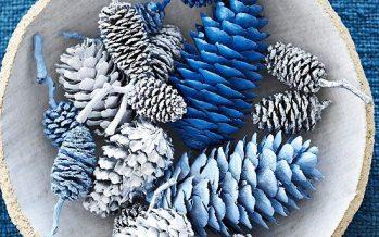 Decoracion navideña Azul 2016