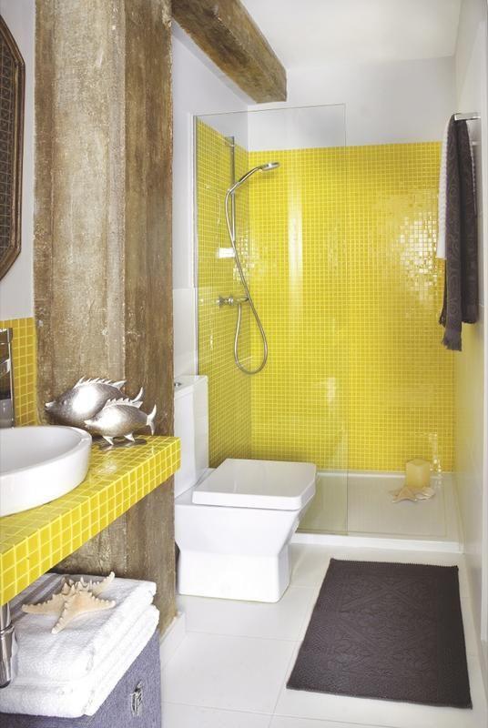 Decoracion de ba os en color amarillo 11 curso de for Cursos de decoracion de interiores en montevideo