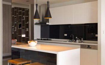 Decoracion de cocinas en blanco y negro