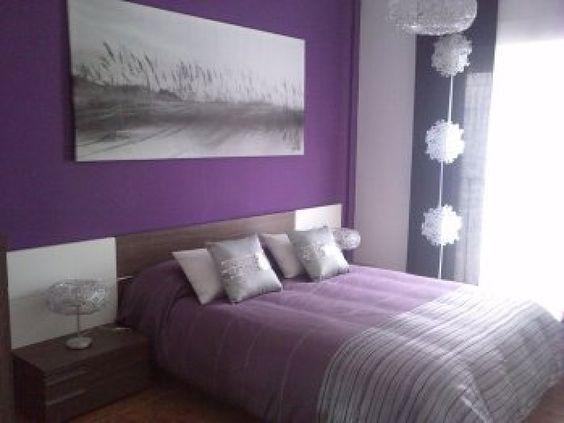 Decoracion de cuartos color morado – dabcre.com