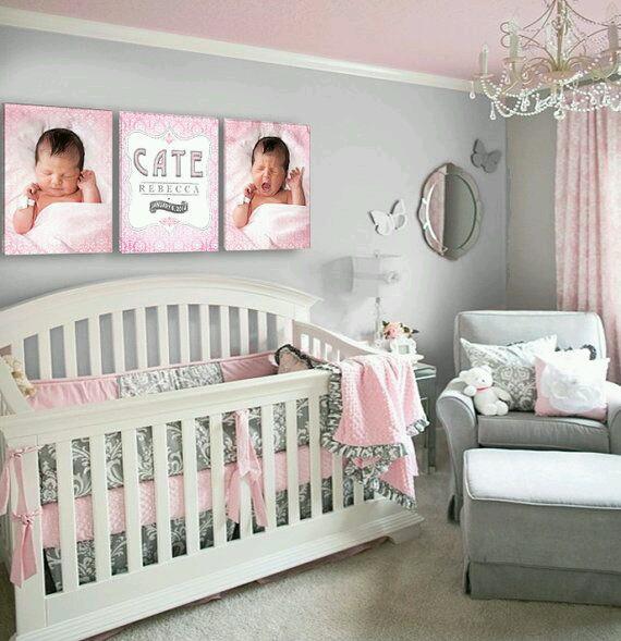 29 Fotos De Decoracion De Habitacion Para Bebes 16 Curso De - Adornos-para-habitaciones-de-bebes