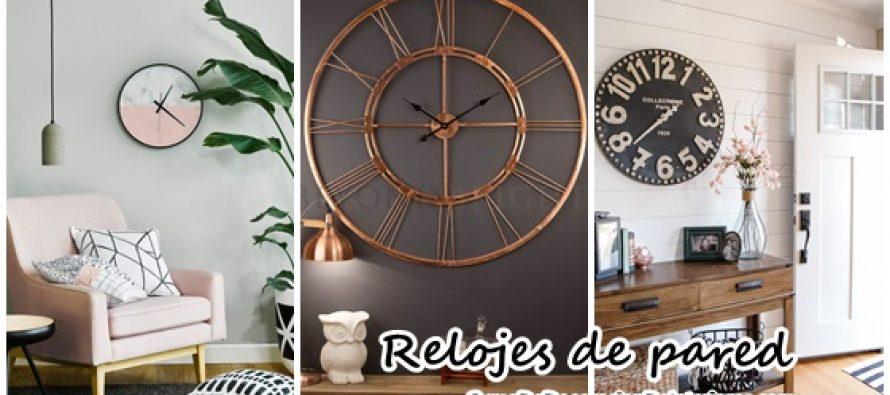 Agrega relojes a la decoraci n de tu hogar decoracion de interiores interiorismo decoraci n - Relojes de decoracion ...