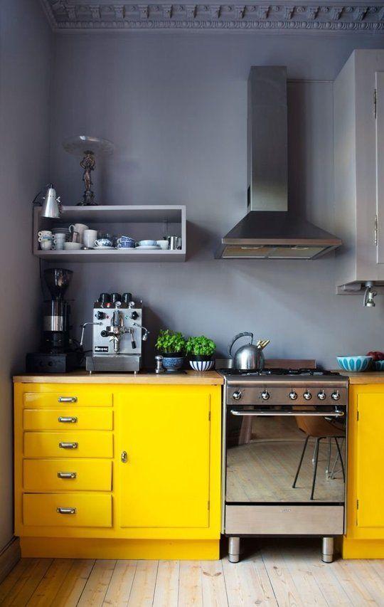 animate-a-decorar-tu-hogar-con-cocinas-amarillas-10 | Decoracion de ...