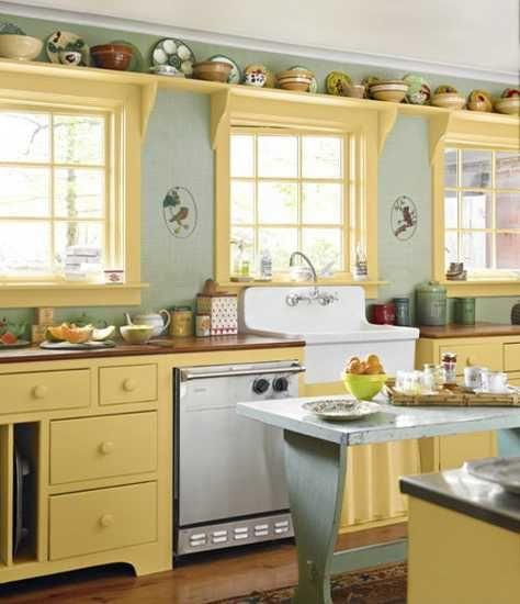 animate-a-decorar-tu-hogar-con-cocinas-amarillas-17 | Decoracion de ...