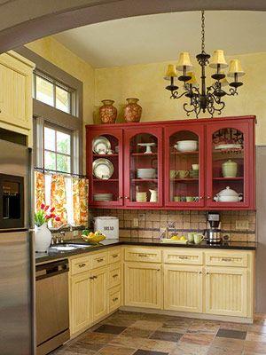 animate-a-decorar-tu-hogar-con-cocinas-amarillas-2 | Decoracion de ...