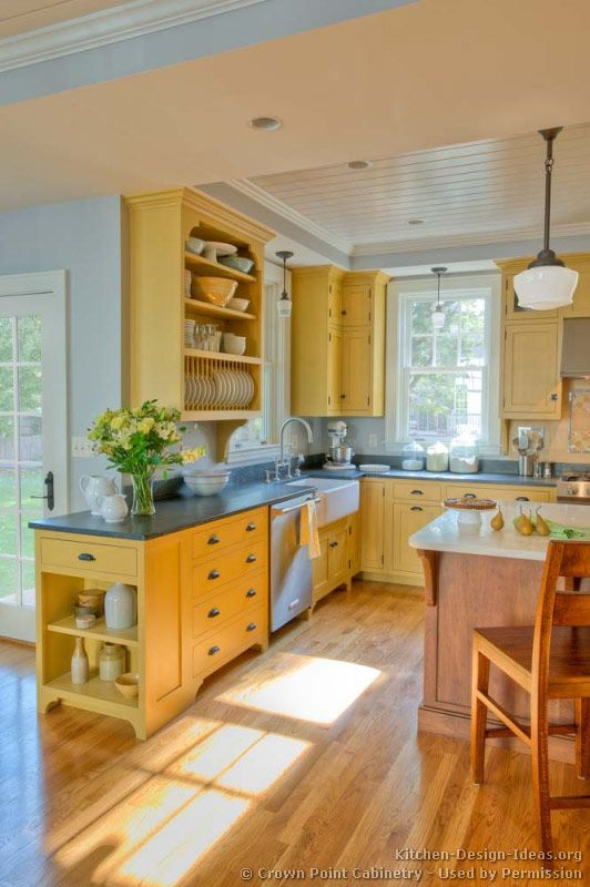 Animate a decorar tu hogar con cocinas amarillas 20 for Decoracion de hogar 2016