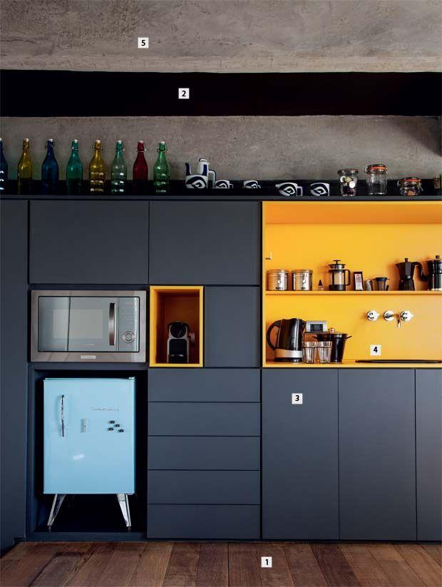 Animate a decorar tu hogar con cocinas amarillas 28 - Cocinas amarillas ...