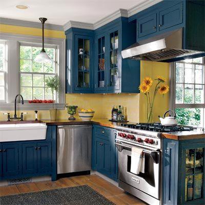 Animate a decorar tu hogar con cocinas amarillas 29 - Cocinas amarillas ...