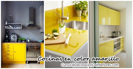 Animate a decorar tu hogar con cocinas amarillas | Decoracion de ...